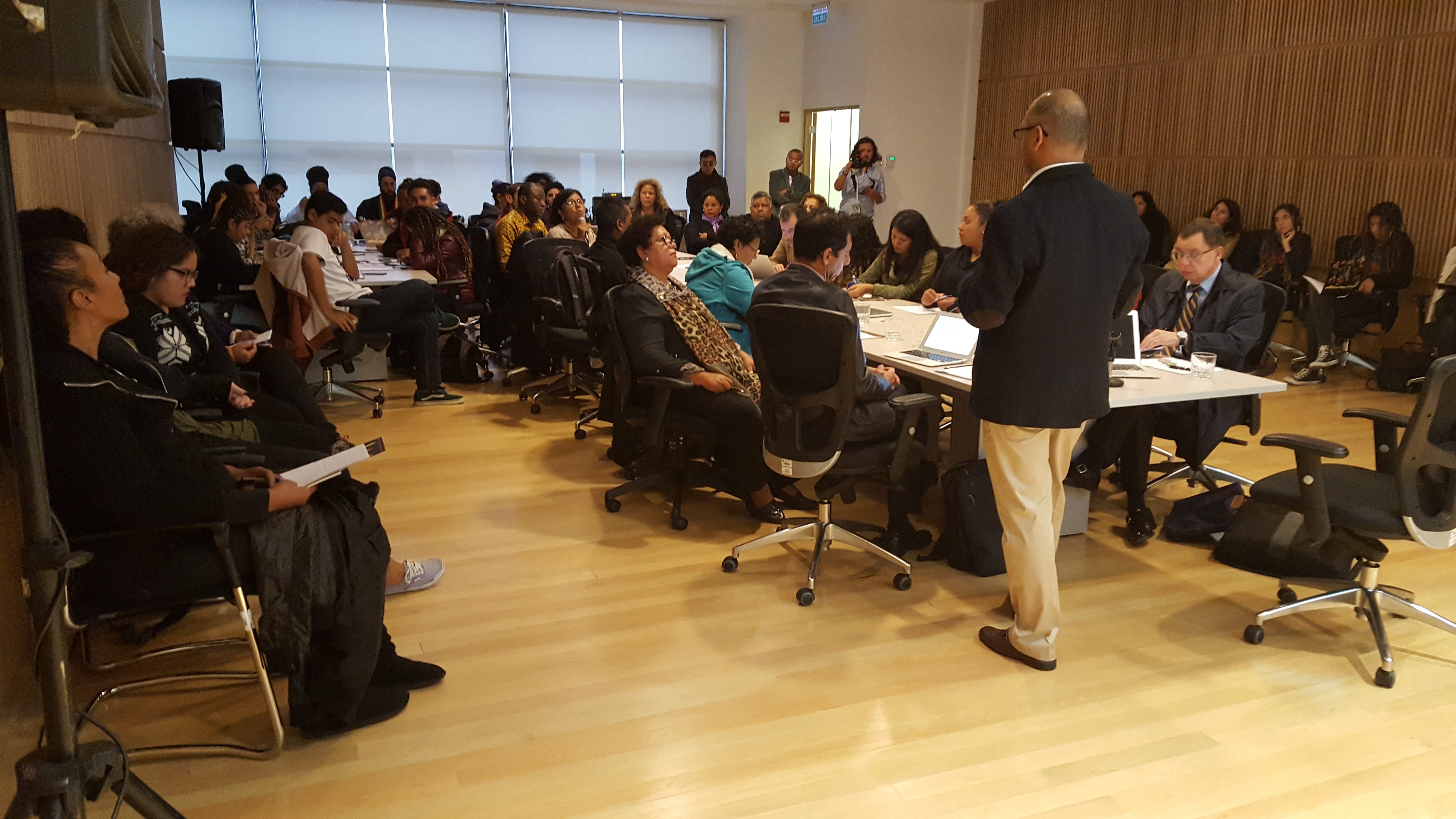 Working Day to Heighten Visibility of Afro-Descendants in Chile: Workshop on the Inter-American Convention against Racism, Racial Discrimination and Connected Forms of Intolerance