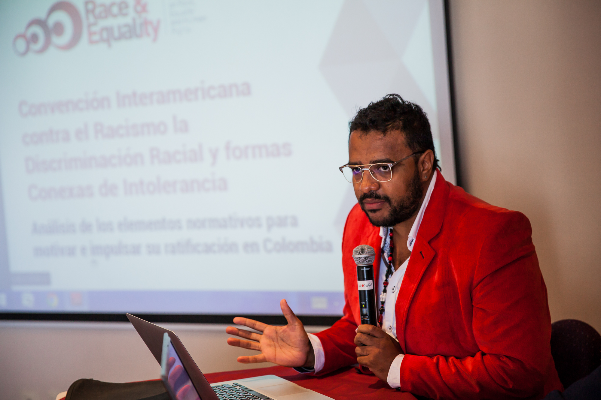 Event to promote the ratification of the Inter-American Convention against Racism, Racial Discrimination and Related Forms of Intolerance by Colombia
