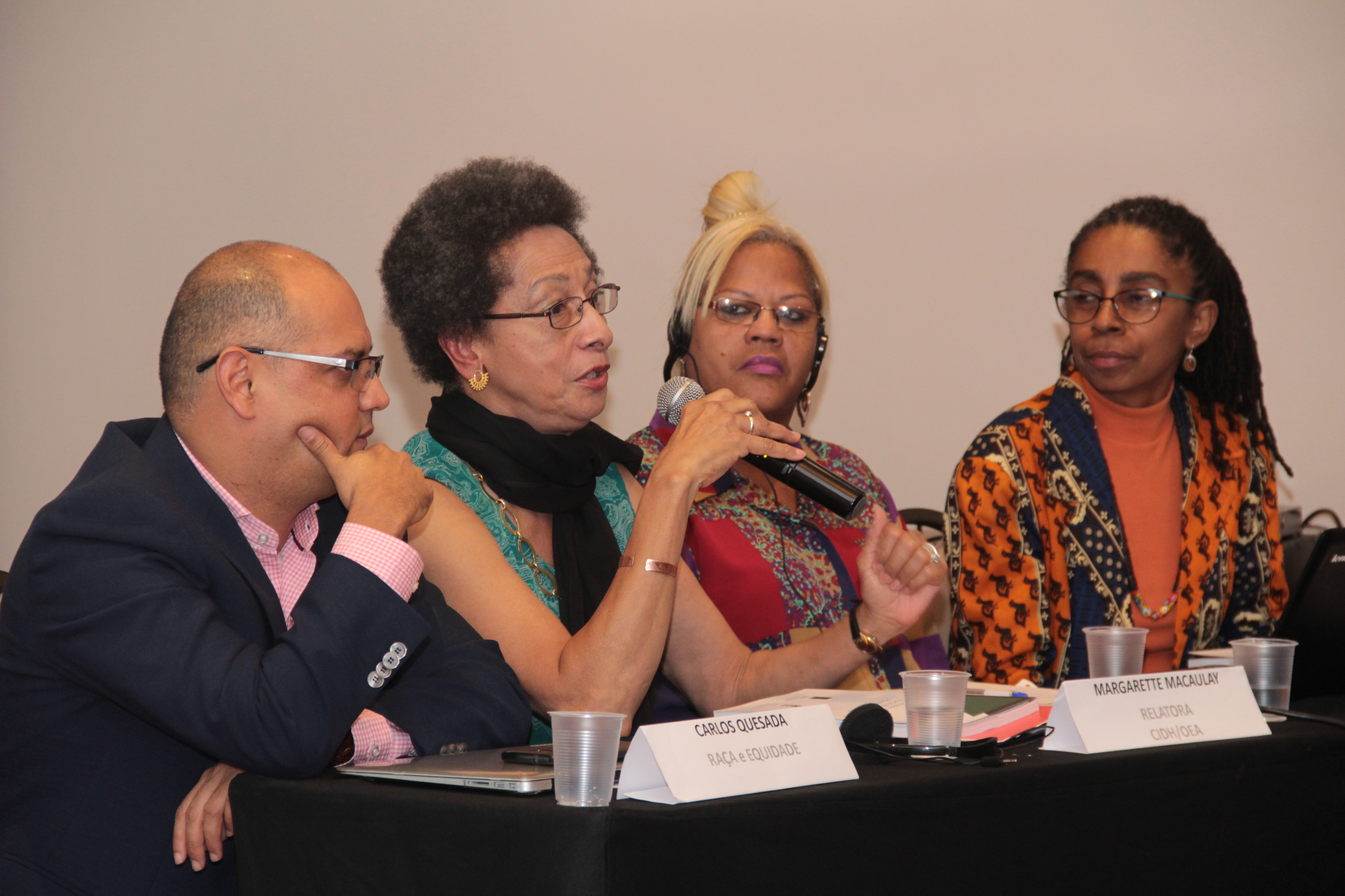Commissioner Margarette May Macaulay, Rapporteur on the Rights of Women and Rapporteur on the Rights of Afro-descendants and against Racial Discrimination, Visits Brazil with the Support of the Institute on Race, Equality and Human Rights