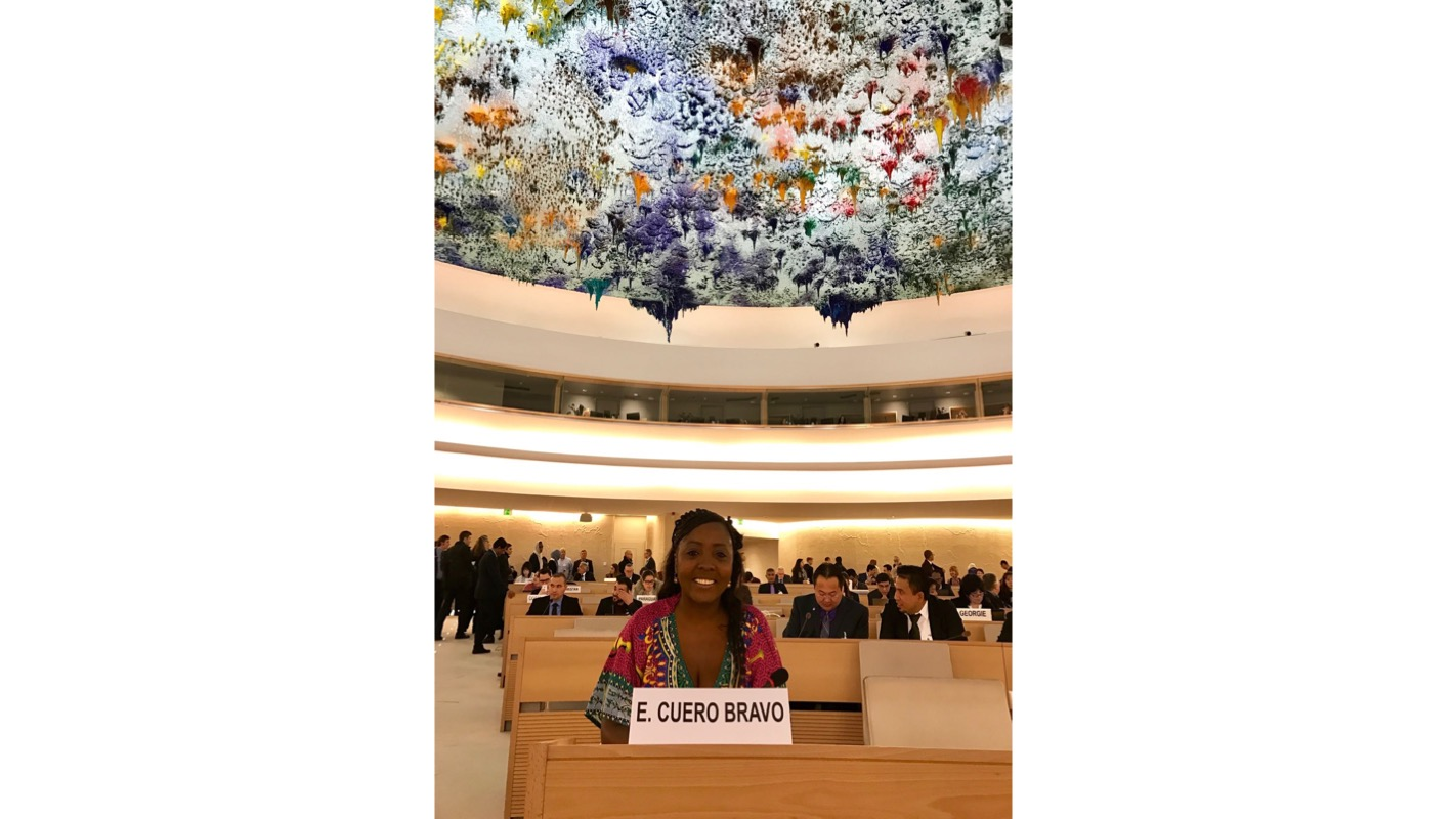 Vice-President of AFRODES Colombia Participates as Expert Panelist at 2016 UN Forum on Minority Issues