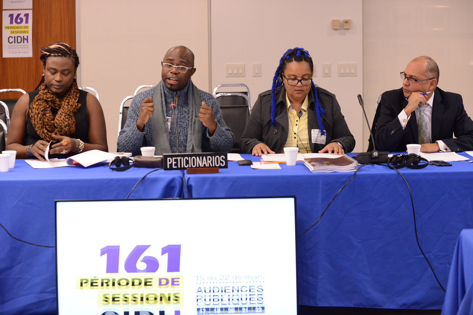 National Network of Black LGBT Persons in Brazil and the National Forum for Black Transgender Persons (FONATRANS) Denounce Violence Against LGBTI Afro-Brazilians Before the Inter-American Commission on Human Rights
