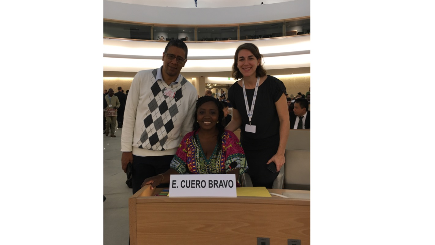 Race and Equality Welcomes Implementation of Protection Measures for Erlendy Cuero Bravo, Vice-President of AFRODES