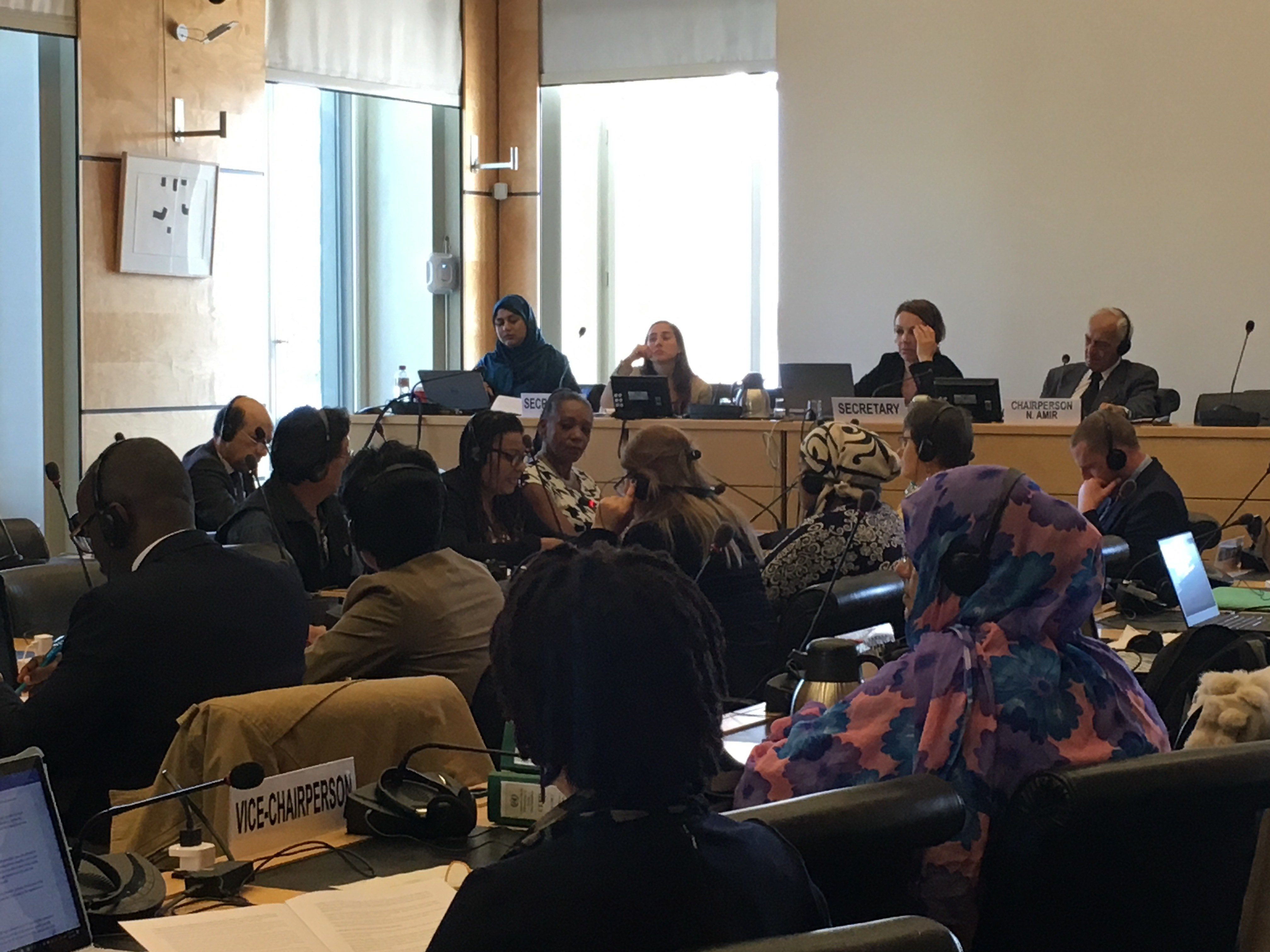 VIDEO: Afro-Peruvian women present discrimination cases before the Committee on the Elimination of Racial Discrimination (CERD)
