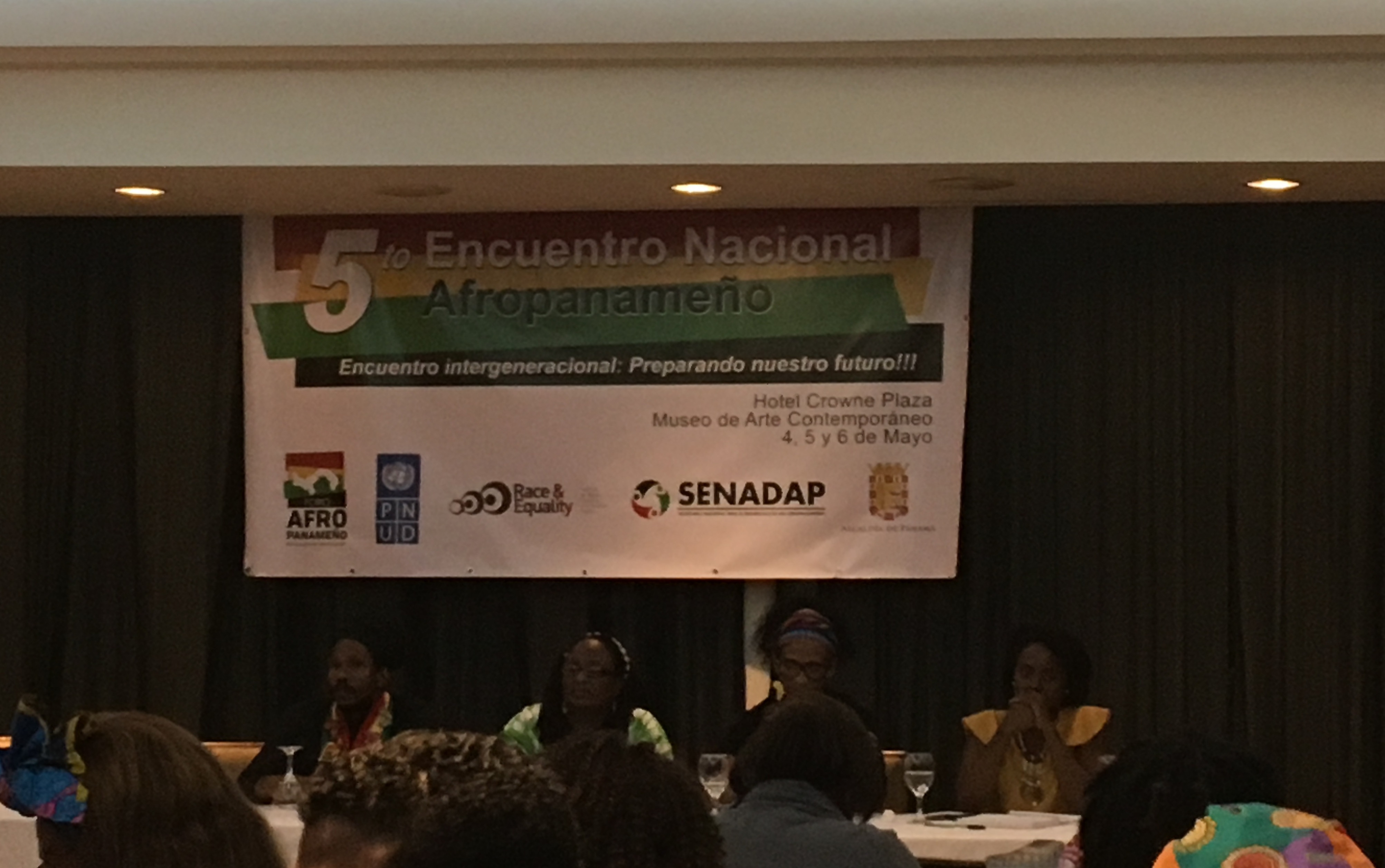 """Race and Equality participates in the 5th National Afro-Panamanian Summit – """"Preparing our Future"""""""