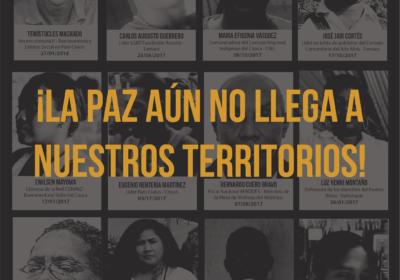 Nuevas amenazas atentan contra la vida de líderes y lideresas afrocolombianos