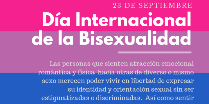 International Bisexuality Day: A Day to Remember the Sexual Diversity that Comprises and Complements Our Society