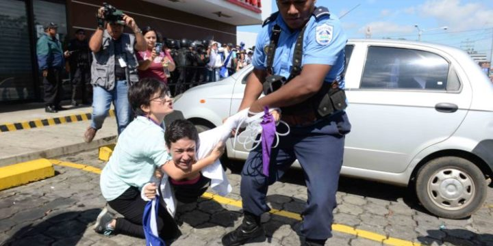 With Repression and Violence, the Ortega Regime Again Violates the Rule of Law in Nicaragua
