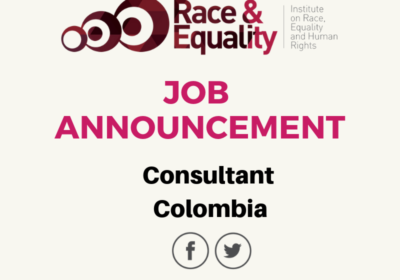 JOB ANNOUNCEMENT – Consultant Colombia