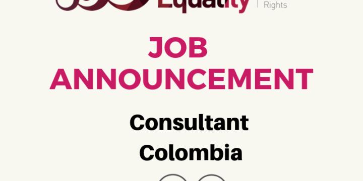 JOB ANNOUNCEMENT – Consultant Colombia