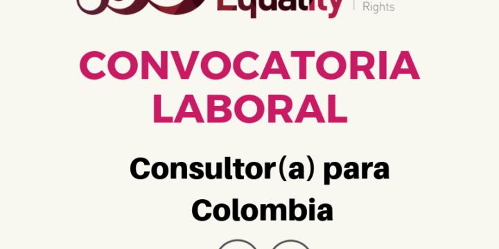Convocatoria Laboral:  Consultor(a) encargado para Colombia