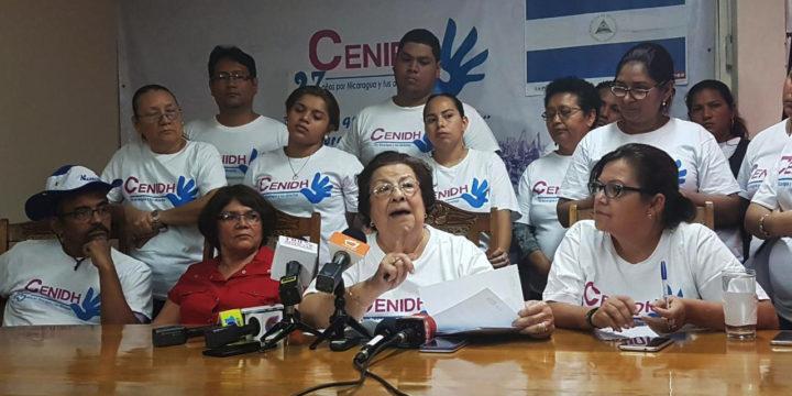 Persecución a defensores de derechos humanos en Nicaragua: cancelan personería jurídica del CENIDH, Hagamos Democracia, IEEPP, CISAS y otras cinco ONGs