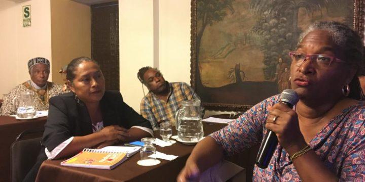 Fortaleciendo Alianzas para el Uso de herramientas Nacionales y Regionales a Favor del Pueblo Afroperuano