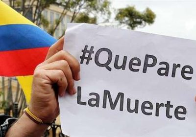 COLOMBIA: NOT ONE STEP BACK, ONWARD TOWARD PEACE! – Pronouncement –