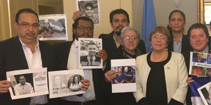 Nicaraguan Delegation Meets with United Nations High Commissioner for Human Rights Michelle Bachelet