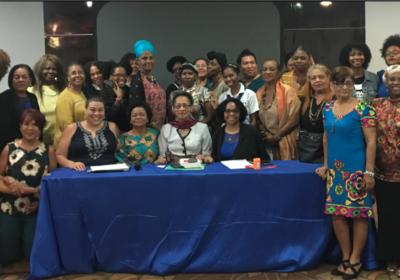 Raza e Igualdad apoya diálogo entre Activistas Afropanameñas y LGBTI con la Comisionada Margarette Macaulay en la Cuidad de Panamá, Panamá.