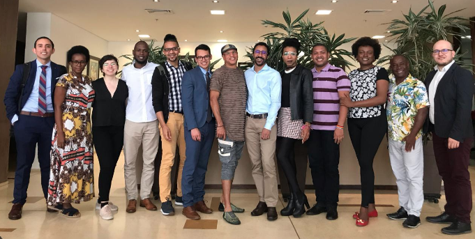 Afro-LGBTI Network for Latin America and the Caribbean held a private meeting with the IACHR Rapporteurship on the rights of LGBTI persons during the 49th OAS General Assembly