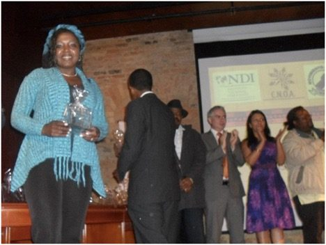 Erlendy Cuero Bravo, Afro-Colombian Human Rights Activist at Risk