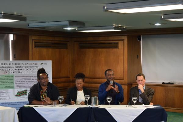 """Conversatorio """"El Papel de Los Afrodescendientes en los Diálogos y La Construcción de la Paz en Colombia"""""""