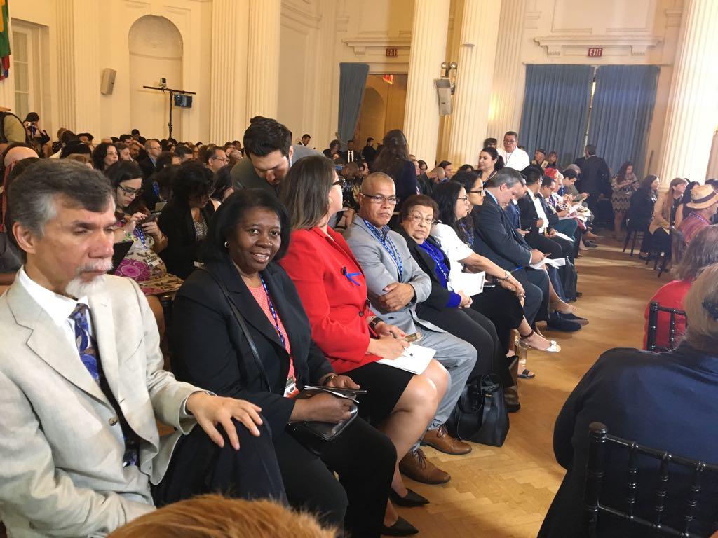 Coalición Afrodescendiente de las Américas en el Cuadragésimo Octavo Período Ordinario de las Sesiones de la Asamblea General de la OEA