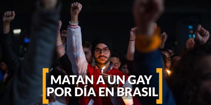 Siete casos de violencia contra personas LGBTI fueron reportados en Brasil la última semana de Abril