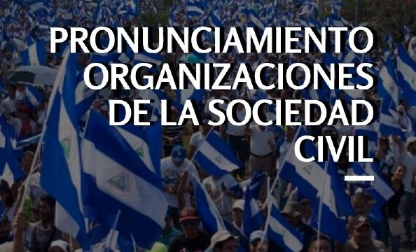 Statement of civil society organizations regarding the coming report about the situation in Nicaragua from the UN High Commissioner for Human Rights