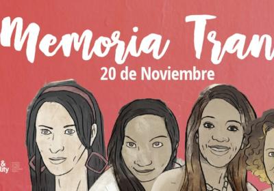 ¡No más impunidad! Día Internacional de la Memoria Trans