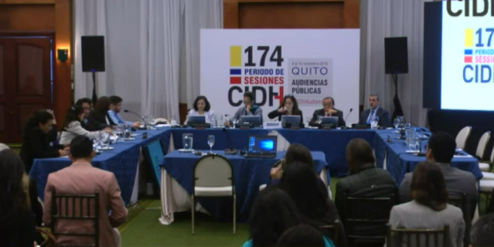 Civil society organizations expose the lack of independence of the Nicaraguan judicial system to IACHR Commissioners