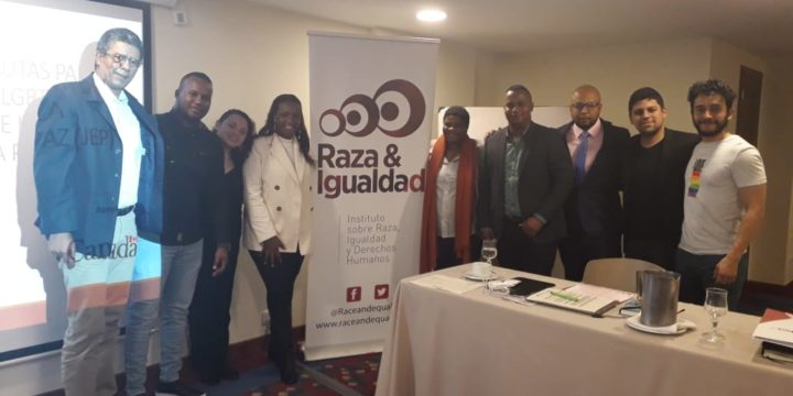 Colombian Afro-LGBTI organizations meet with representatives from the JEP