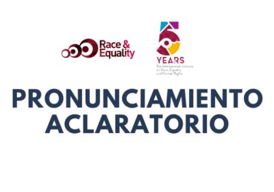 El Instituto sobre Raza, Igualdad y Derechos Humanos celebra que activista cubano Ariel Ruiz Urquiola pueda dirigirse al pleno del Consejo de Derechos Humanos de Naciones Unidas y aclara sobre asistencia ofrecida en Ginebra