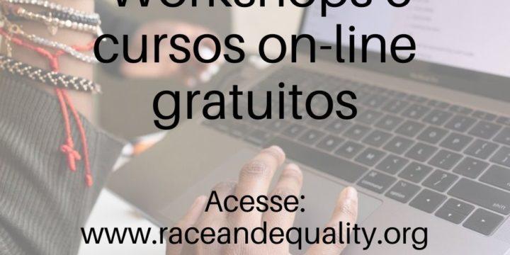 Raça e Igualdade oferece cursos on-line gratuitos fortalecendo aliança com organizações e movimentos sociais