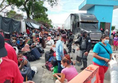 Gobierno de Nicaragua impide el regreso de cientos de nicaragüenses a su país