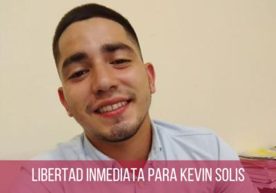 Libertad inmediata para el estudiante Kevin Solís, pide el Grupo de Trabajo sobre Detención Arbitraria de la ONU