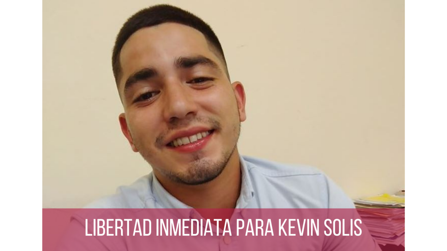 UN Working Group on Arbitrary Detention requests immediate release of Nicaraguan student Kevin Solis