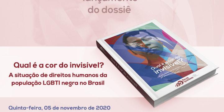 """""""Qual é a Cor do Invisível?"""": Raça e Igualdade lança dossiê sobre situação da população LGBTI negra no Brasil"""