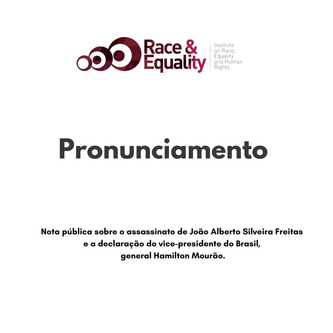 PronunciamentoRacismoBrasil