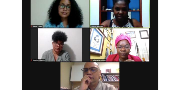 Lideresas afrodescendientes de la región llaman a incluir el enfoque étnico-racial en las leyes y políticas sobre la participación de las mujeres en cargos públicos y de elección popular