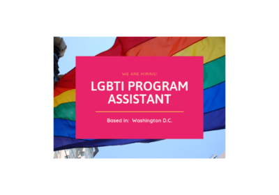 JOB ANNOUNCEMENT: LGBTI Program Assistant