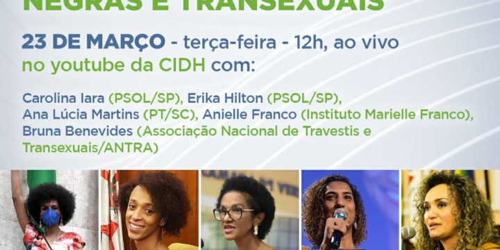 Parlamentares negras – cis e trans e organizações da sociedade civil denunciam a violência política no Brasil à Comissão Interamericana de Direitos Humanos