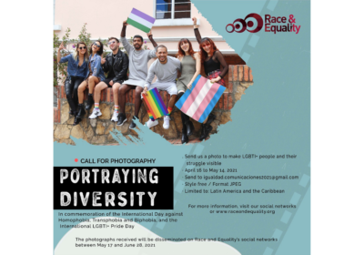 "Call for Photography: ""Portraying Diversity"""
