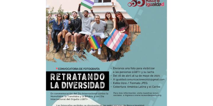 """Convocatoria de fotografía: """"Retratando la Diversidad"""""""