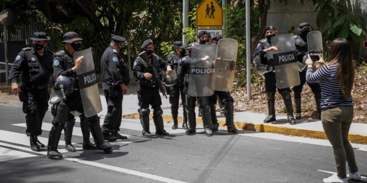 Human rights organizations condemn escalated repression in Nicaragua and demand the immediate release of all political prisoners