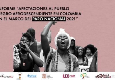 Organizaciones afrocolombianas denuncian ante la CIDH que al menos el 39% de las víctimas de violaciones a DDHH en medio del paro son afrodescendientes
