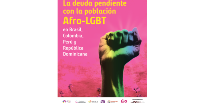 Race and Equality launches a report to raise awareness around the Afro-LGBT population in Brazil, Colombia, Peru and the Dominican Republic to contribute to the recognition of their ights