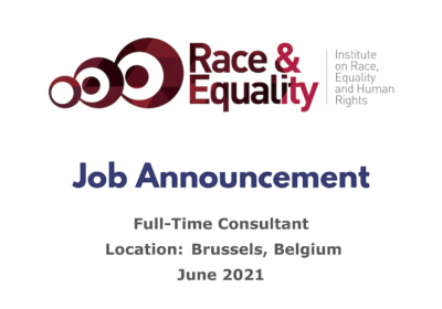 JOB ANNOUNCEMENT: Full-Time Consultant (Brussels)