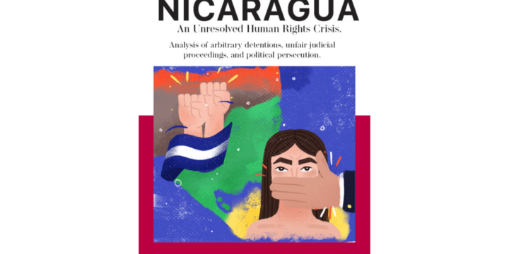"""Race and Equality launches the report """"Nicaragua, an unsolved human rights crisis: Analysis of arbitrary detentions, judicial processes without guarantees, and political persecution"""""""
