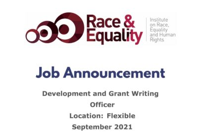 JOB ANNOUNCEMENT: DEVELOPMENT AND GRANT WRITING OFFICER