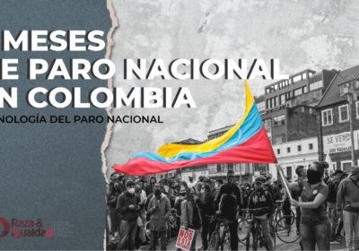 3 meses del Paro Nacional en Colombia